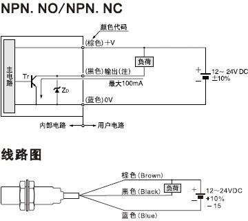 全金属感应接近开关kjt-j30qs-金属感应面电感式接近