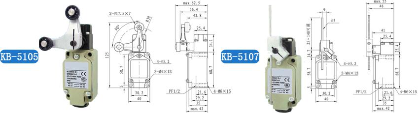 kb行程开关-kb行程开关-行程限位开关-凯基特