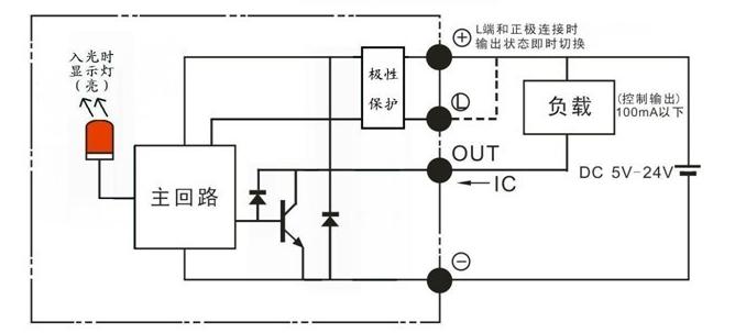 24v外接led电路图