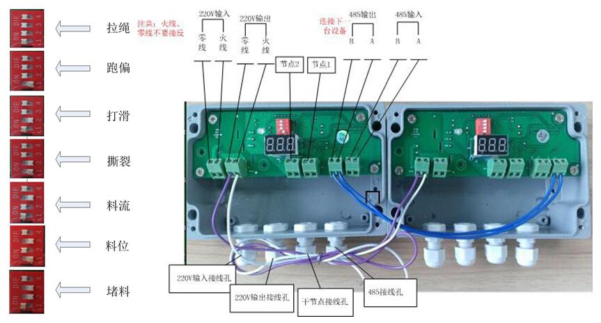 地址編碼器kjt-fsi工作原理