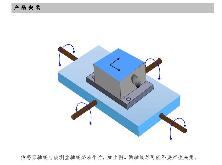 单双轴数字输出型倾角传感器