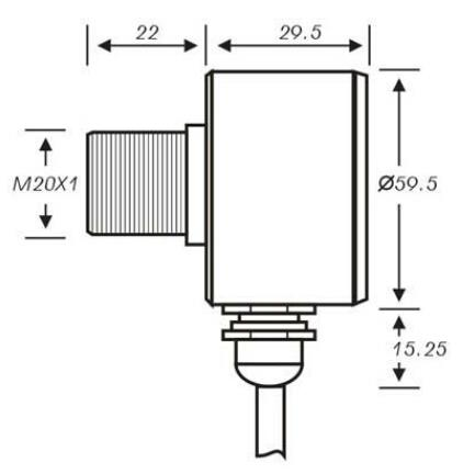 非接触式在线式红外线测温仪